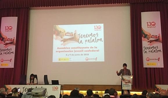 La juventud de UGT debate para constituir la asociación juvenil